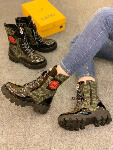 Bottines Style militaire - 329 DH